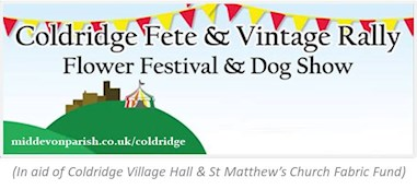 Coldridge Fete and Vintage Rally Logo - No Date