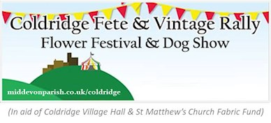 Coldridge Fete and Vintage Rally No-Date Logo